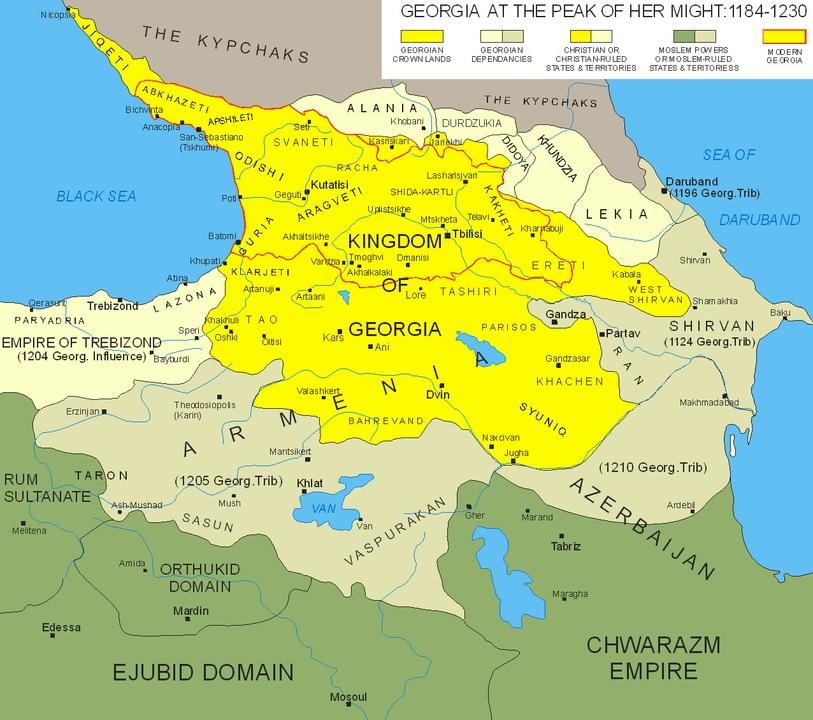 królestwo gruzji